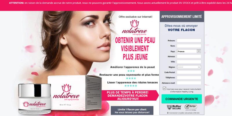 Nolatreve Canada: Reviews, Anti Aging Cream Best Results & Price!